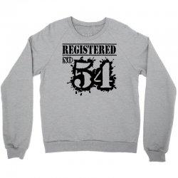 registered no 54 Crewneck Sweatshirt | Artistshot
