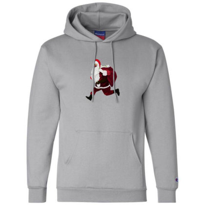 Santa Brings Disinfectant Champion Hoodie Designed By Akin