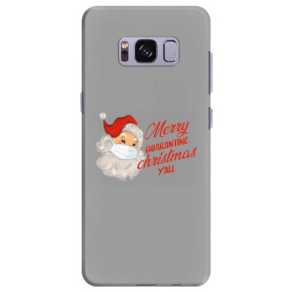 Merry Quarantine Christmas Y'all Samsung Galaxy S8 Plus Case Designed By Akin