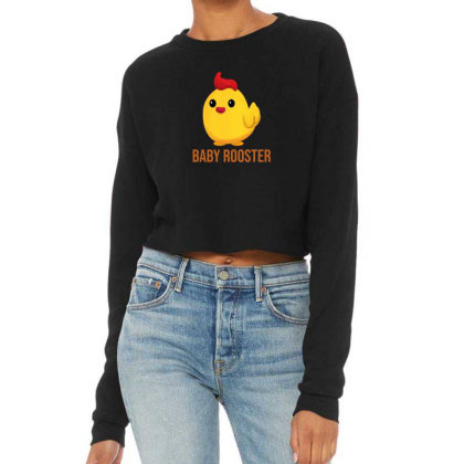 Baby Rooster Cropped Sweater Designed By Akin