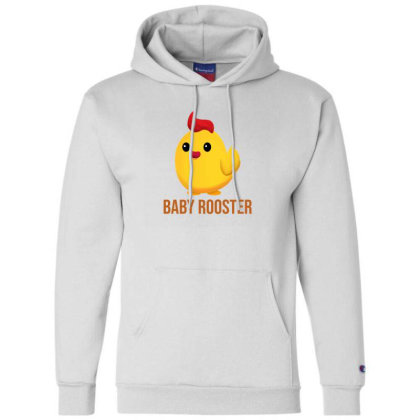 Baby Rooster Champion Hoodie Designed By Akin