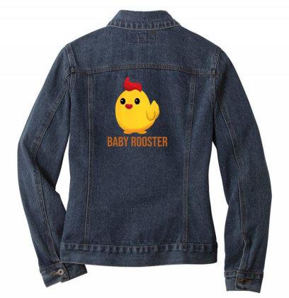 Baby Rooster Ladies Denim Jacket Designed By Akin