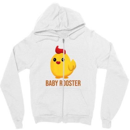 Baby Rooster Zipper Hoodie Designed By Akin