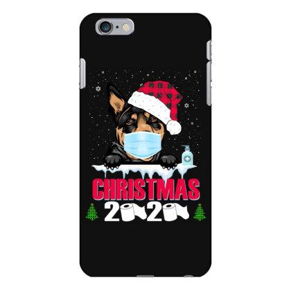 Christmas 2020 Australian Kelpie Dog Face Mask Funny Dog Lover Xmas Iphone 6 Plus/6s Plus Case Designed By Love Shiga