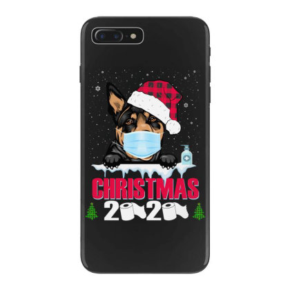 Christmas 2020 Australian Kelpie Dog Face Mask Funny Dog Lover Xmas Iphone 7 Plus Case Designed By Love Shiga