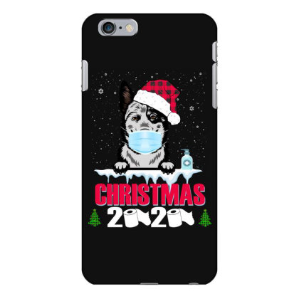 Christmas 2020 Australian Cattle Dog Face Mask Funny Dog Lover Xmas Iphone 6 Plus/6s Plus Case Designed By Love Shiga