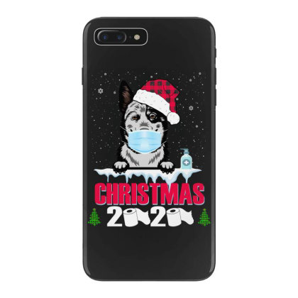 Christmas 2020 Australian Cattle Dog Face Mask Funny Dog Lover Xmas Iphone 7 Plus Case Designed By Love Shiga