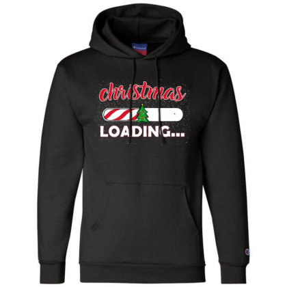 Christmas Loading Champion Hoodie Designed By Ashlıcar
