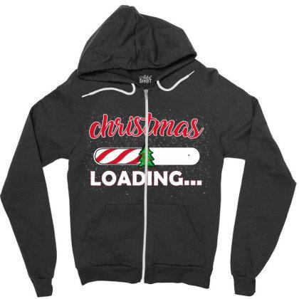 Christmas Loading Zipper Hoodie Designed By Ashlıcar