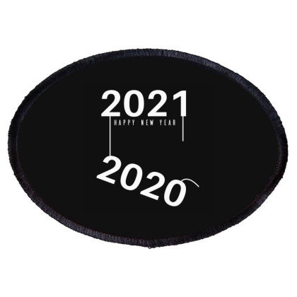 2021 Happy New Year Oval Patch Designed By Fahmifutri