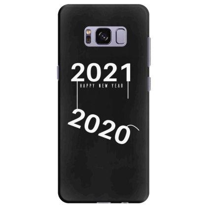 2021 Happy New Year Samsung Galaxy S8 Plus Case Designed By Fahmifutri