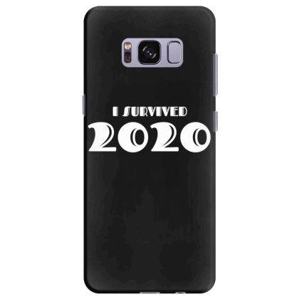 I Survived 2020 Samsung Galaxy S8 Plus Case Designed By Fahmifutri