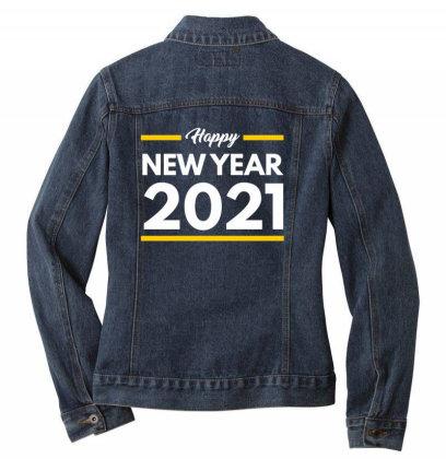 Happy New Year 2021 Ladies Denim Jacket Designed By Fahmifutri