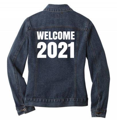 Welcome 2021 Ladies Denim Jacket Designed By Fahmifutri