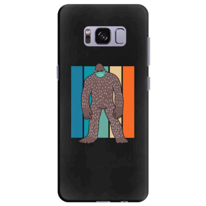Bigfoot With Face Mask Samsung Galaxy S8 Plus Case Designed By Blackstone