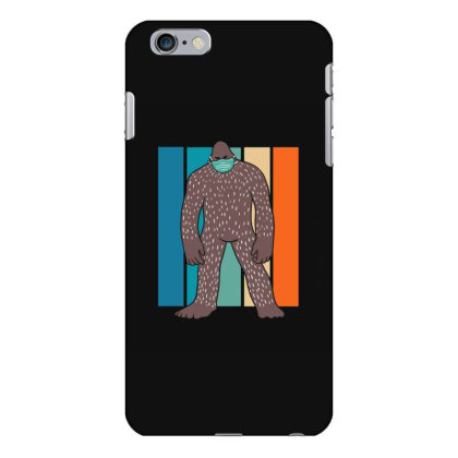 Bigfoot With Face Mask Iphone 6 Plus/6s Plus Case Designed By Blackstone