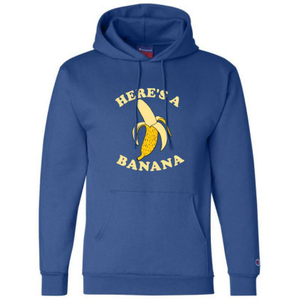 Funny Banana Champion Hoodie Designed By Blackstone