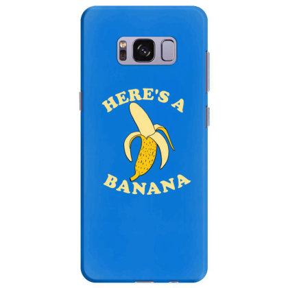 Funny Banana Samsung Galaxy S8 Plus Case Designed By Blackstone