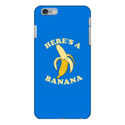 Funny Banana Iphone 6 Plus/6s Plus Case Designed By Blackstone