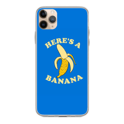 Funny Banana Iphone 11 Pro Max Case Designed By Blackstone
