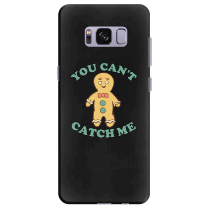 Gingerbread Man You Cant Catch Me Samsung Galaxy S8 Plus Case Designed By Blackstone