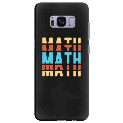 Math Typography Samsung Galaxy S8 Plus Case Designed By Blackstone