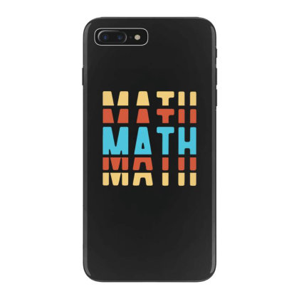 Math Typography Iphone 7 Plus Case Designed By Blackstone