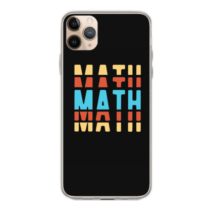 Math Typography Iphone 11 Pro Max Case Designed By Blackstone