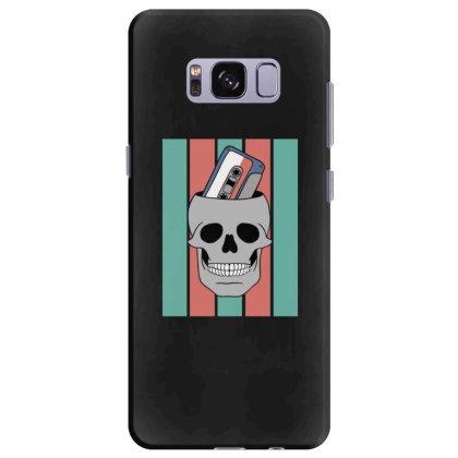 Music Tape Skull Samsung Galaxy S8 Plus Case Designed By Blackstone