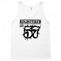 registered no 57 Tank Top | Artistshot