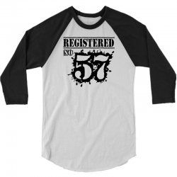 registered no 57 3/4 Sleeve Shirt | Artistshot