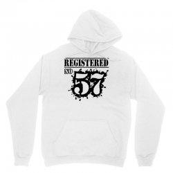 registered no 57 Unisex Hoodie | Artistshot