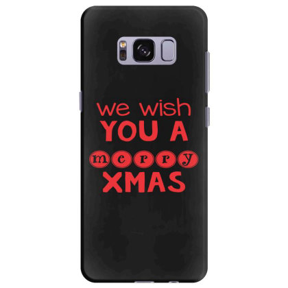 Merry Christmas, Happy New Year, Have A Holly Jolly Samsung Galaxy S8 Plus Case Designed By Estore