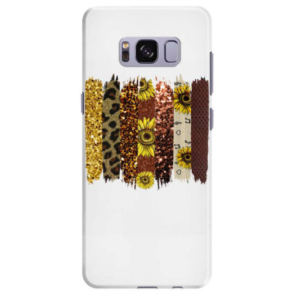 Fall Glitter Brush Strokes Samsung Galaxy S8 Plus Case Designed By Bettercallsaul