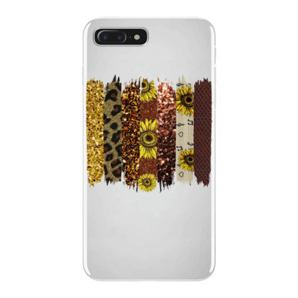 Fall Glitter Brush Strokes Iphone 7 Plus Case Designed By Bettercallsaul