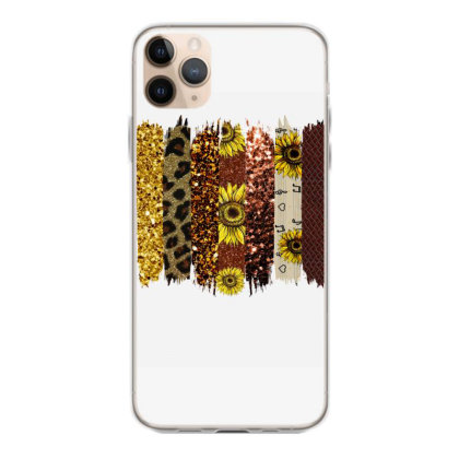 Fall Glitter Brush Strokes Iphone 11 Pro Max Case Designed By Bettercallsaul