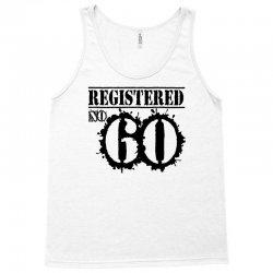 registered no 60 Tank Top   Artistshot