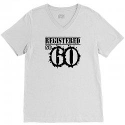 registered no 60 V-Neck Tee   Artistshot