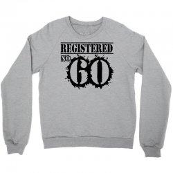 registered no 60 Crewneck Sweatshirt   Artistshot