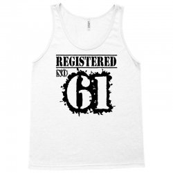 registered no 61 Tank Top | Artistshot