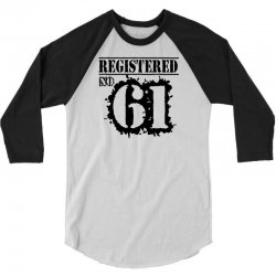 registered no 61 3/4 Sleeve Shirt | Artistshot
