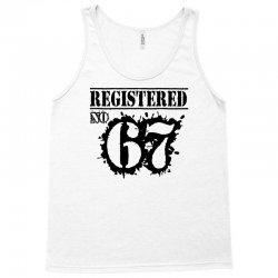 registered no 67 Tank Top   Artistshot