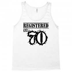 registered no 70 Tank Top | Artistshot