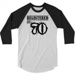 registered no 70 3/4 Sleeve Shirt | Artistshot