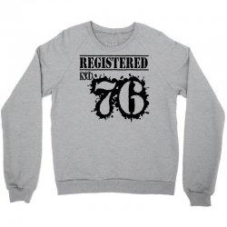 registered no 76 Crewneck Sweatshirt | Artistshot