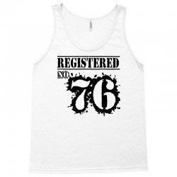 registered no 76 Tank Top | Artistshot