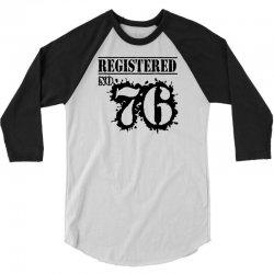 registered no 76 3/4 Sleeve Shirt | Artistshot