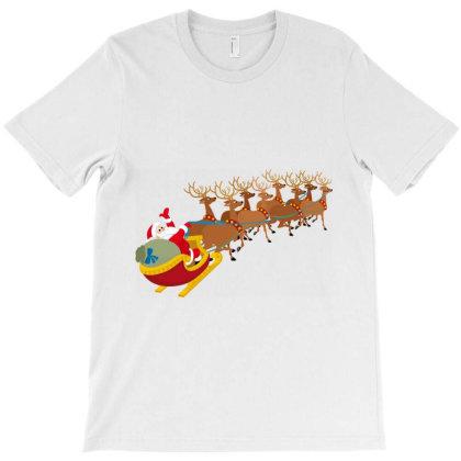 Santa Parade T-shirt Designed By Danz Blackbirdz