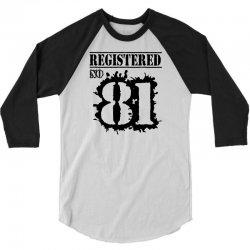 registered no 81 3/4 Sleeve Shirt   Artistshot