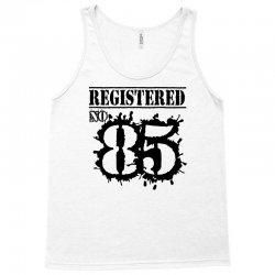 registered no 85 Tank Top | Artistshot